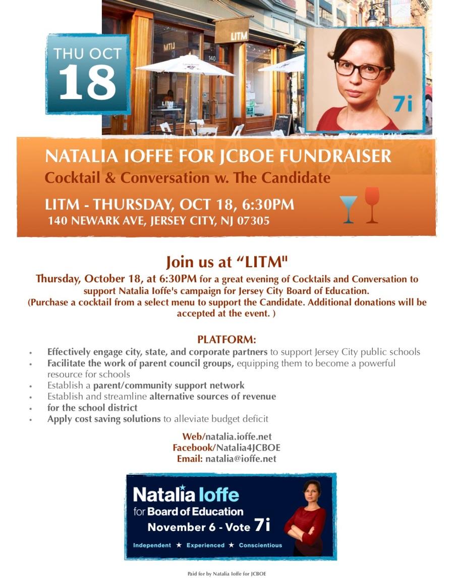 LITM Coctail Fundraiser Flyer